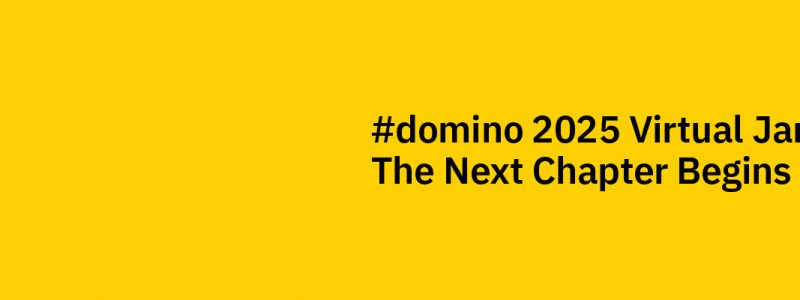 Domino 2025 Virtual Jam