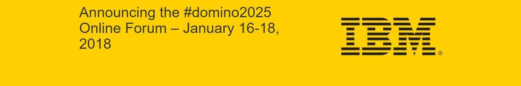 IBM annuncia un forum Online per #domino2025