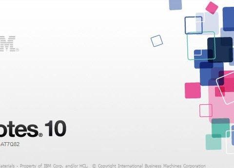 Beta 1 di Notes/Domino10